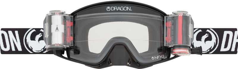 Dragon NFX2 Goggle Coal / Clear Roll Off