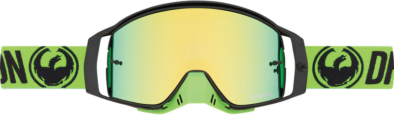 Dragon NFX2 Goggle Break Green / Smoke Gold