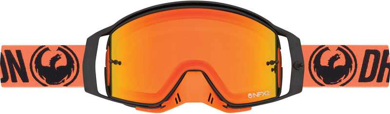 Dragon NFX2 Goggle Break Orange / Injected Yellow Red Ion