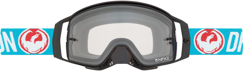 Dragon NFX2 Goggle Flash Blue / Injected Blue Steel