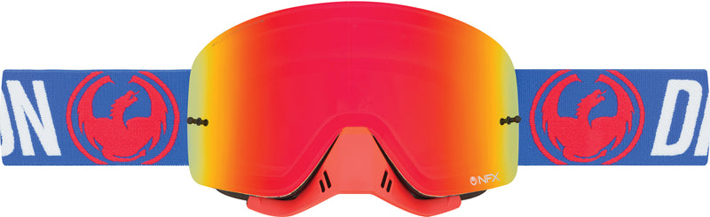 Dragon NFX Goggle Flash Blue / Red Ion
