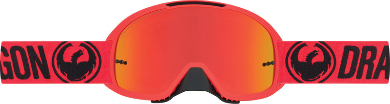 Dragon MDX2 Goggle Break Red / Red Ion