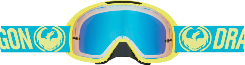 Dragon MDX2 Goggle Break High Vis / Yellow Blue Ion