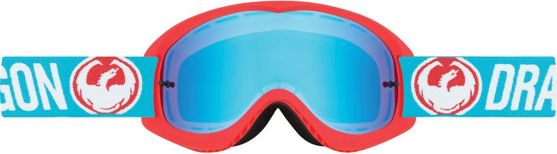 Dragon MDX Goggle Flash Blue / Blue Stel