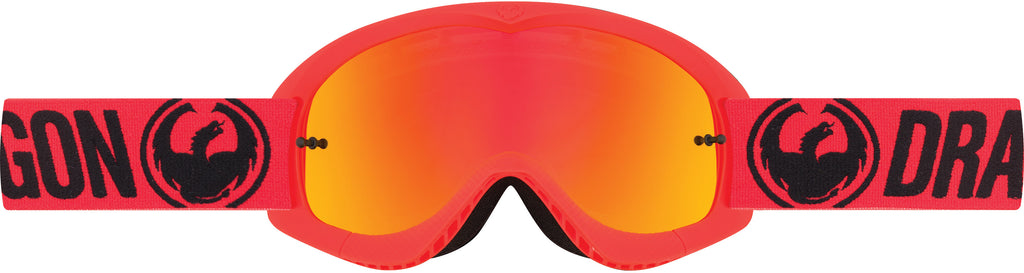 Dragon Youth MX Goggle Break Red Ion