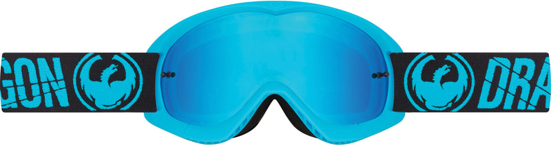 Dragon Youth MX Goggle Merge Blue / Blue Steel
