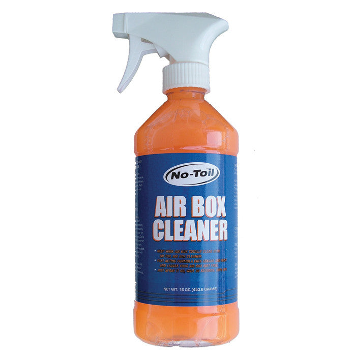 Oil Lubricants & Fluids Cleaner Air Filter Air box No Toil Spray Cleaner - - Spray