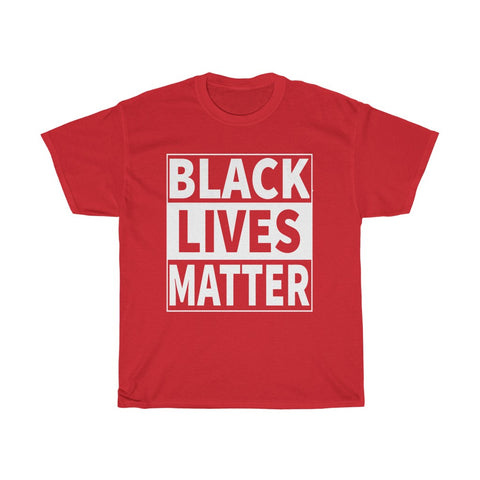Black lives matter Unisex Heavy Cotton Tee