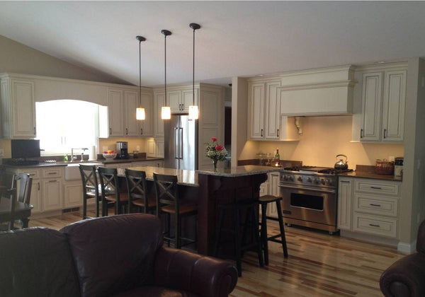 Completed Interior Kitchen Project Example by Solution for Spaces, Kalispell Montana
