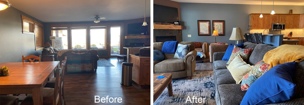 One day decorating services by Solution for Spaces, Kalispell, Montana