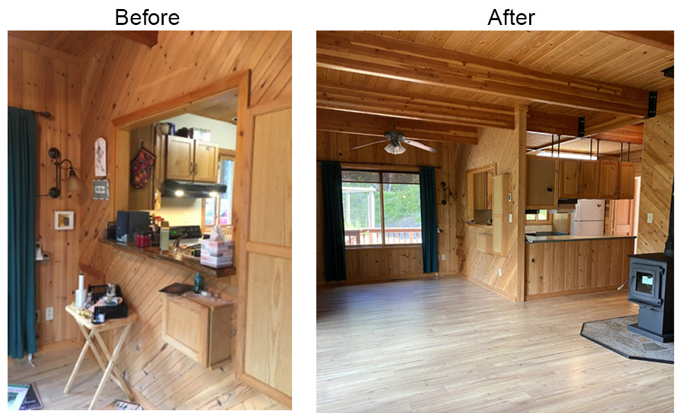 Examples of outdoor and indoor kitchen design projects by Solution for Spaces, Kalispell Montana