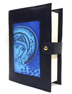 Genuine leather bible case