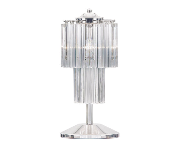 Table lamp in Murano glass