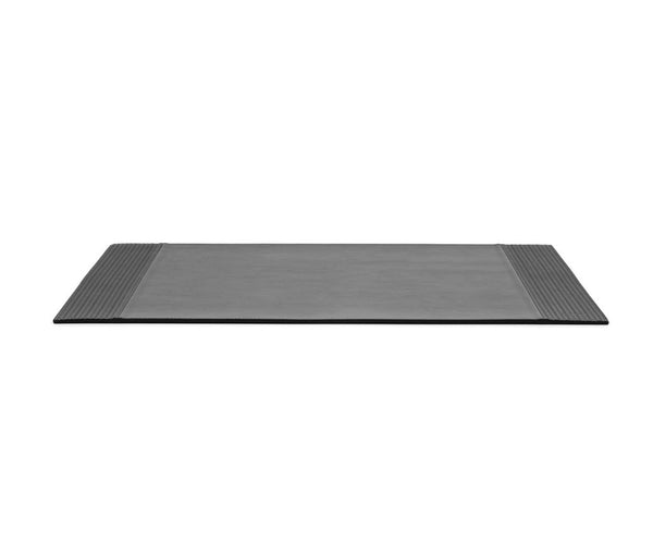 Rectangular Placemat With Side Bands - Grey