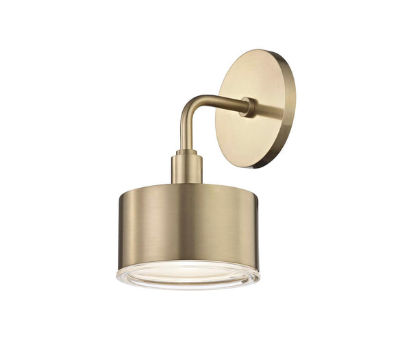 Nora Aged Brass 1 Light Wall Sconce