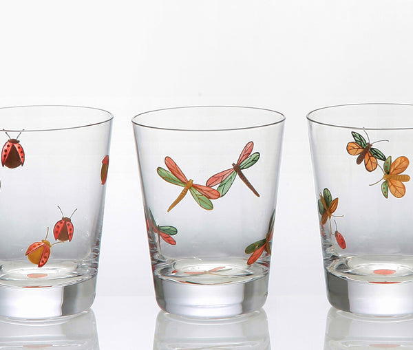 Bugs Painted Single Old Fashioned Set