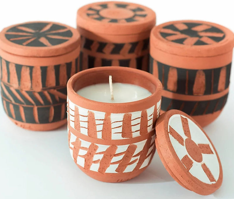 Chios Candle White Mandarin & Orange Scent