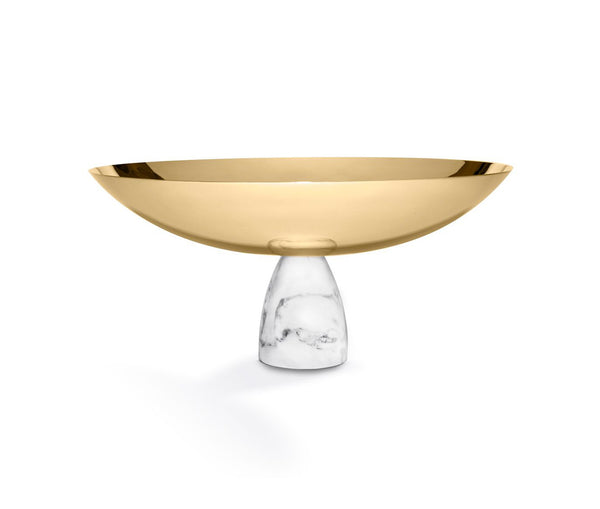 Coluna Fruit Bowl Marble & Gold - Carrara Gld