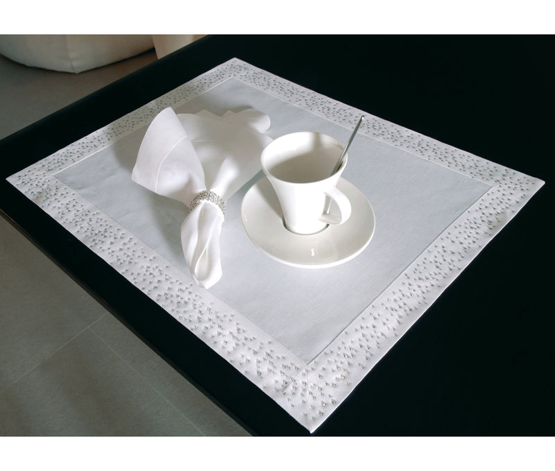 Crystal Party Corner Napkins