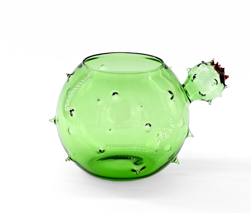 Cactus Mania Venetian Glass Containers