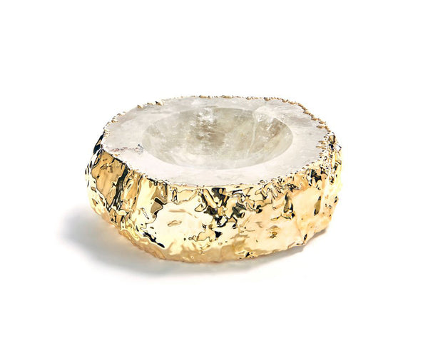 Cascita Bowl 24k Gold - Crystal Gld