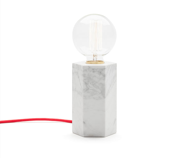 Marblelous Hex Lamp