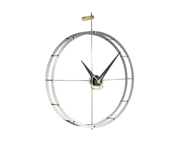 Double O Wall Clock