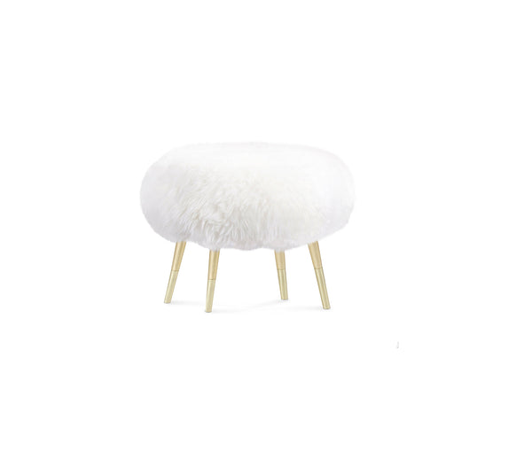 Marshmallow Fur Stool