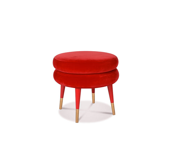 Marshmallow Single Stool