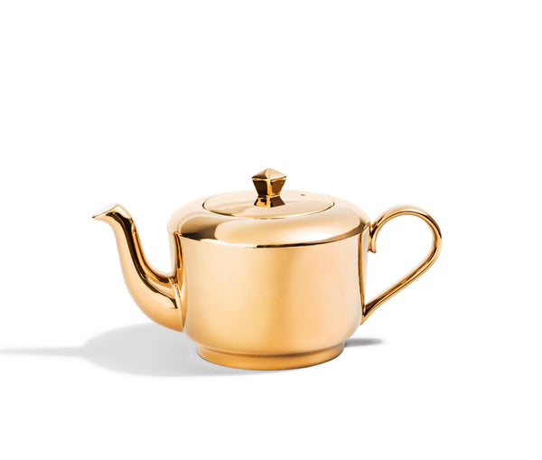 Gold Medium Teapot - Reflect
