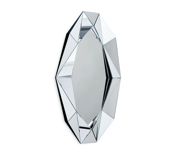 Diamond Mirror Xl Silver