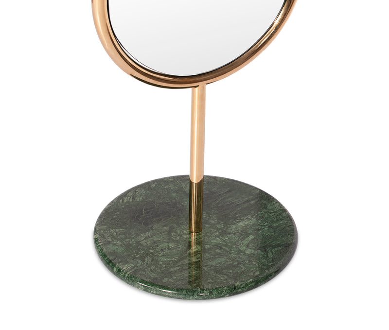 Marshmallow Floor Mirror