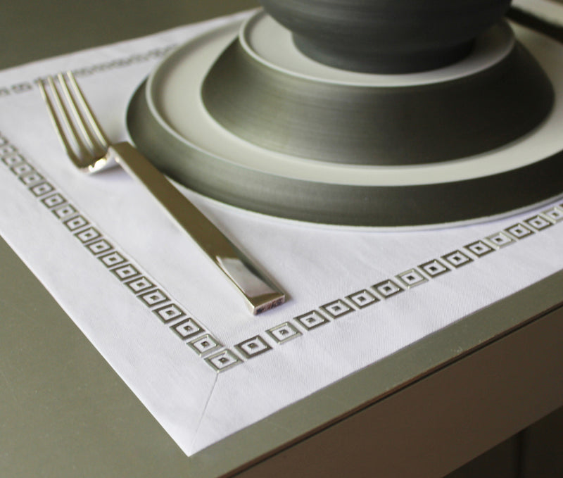Square Party Simple Napkins