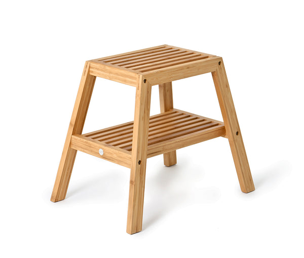 Slatted Stool Bamboo