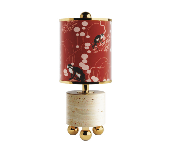 Ventura Table Lamp Red Monkey