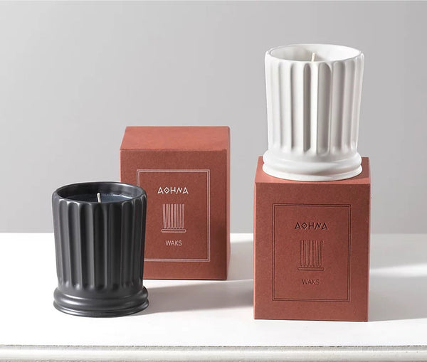 Athena Candle Black