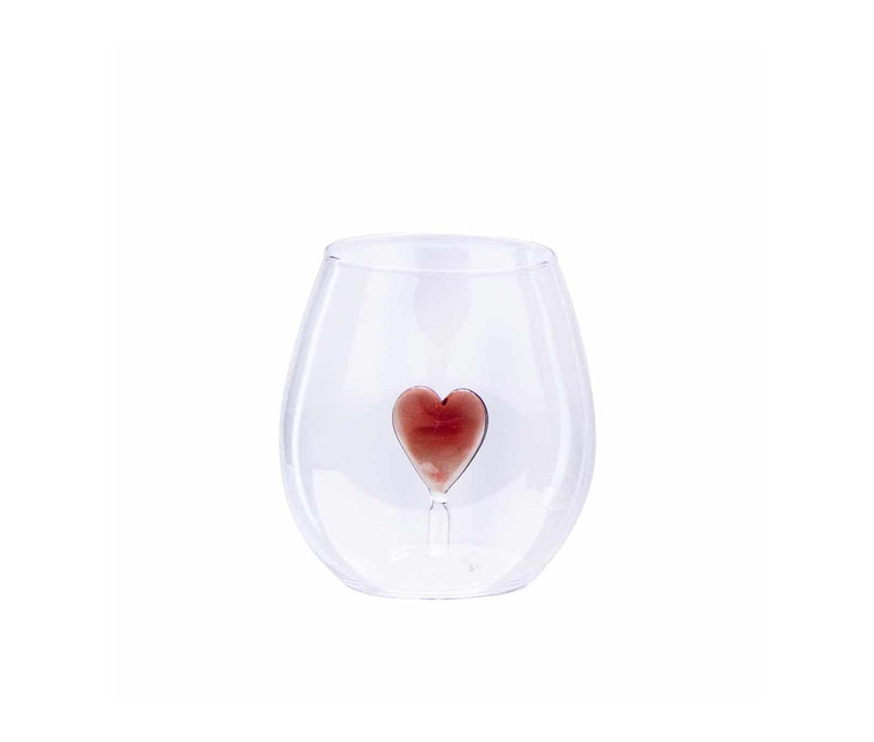 Set of 4 sweet Heart Glasses