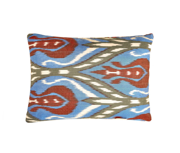 Hagia Sophia Isidore Suzani Cushion Double Sided With Ikat
