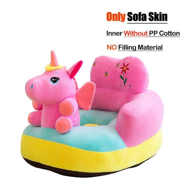 Baby Sofa Cover Learn to Sit Seat Kids Feeding Chair Cover Washable Sofa Skin for Infant Sofa Cover Soft Seat Case No Cotton