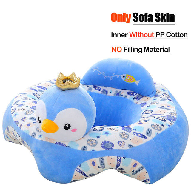 Baby Sofa Support Seat Cover Learning To Sit Seat Feeding Chair Cover Kids Sofa Skin for Infant Toddler Nest Puff Without Cotton