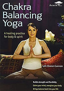 DVD Chakra Balancing Yoga with Sharon Gannon The Pratice