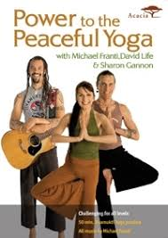 DVD Power to the Peaceful Yoga with Michael Franti,David Life&Sharon Gannon