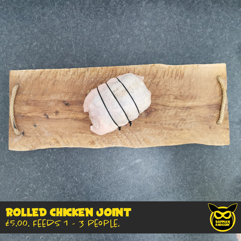 Rolled Chicken Joint