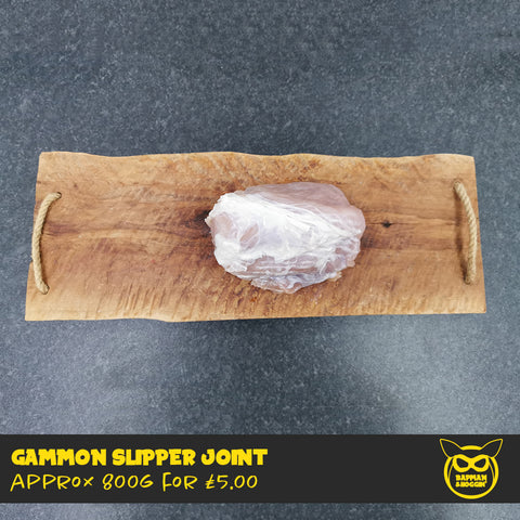 Gammon Slipper Joint