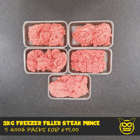 2kg Freezer Filler Steak Mince