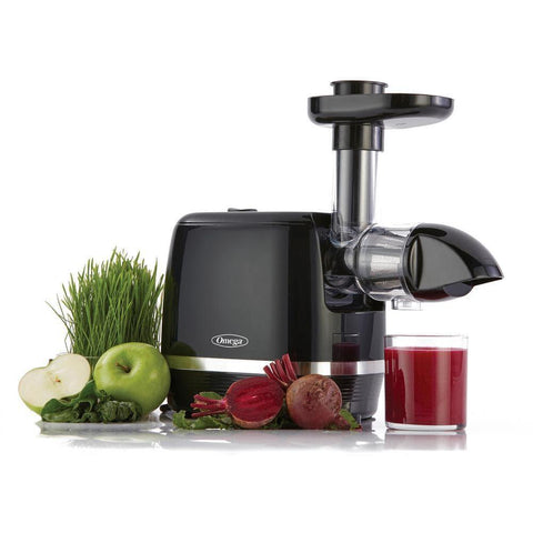 Omega H3000 Cold Press 365 Masticating Juicer - BlackSuper Wellness USA