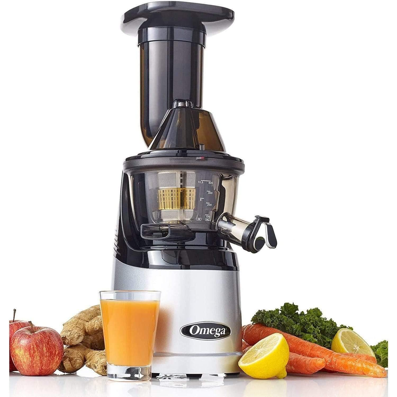 Omega MMV700S Mega Mouth Slow Running JuicerSuper Wellness USA