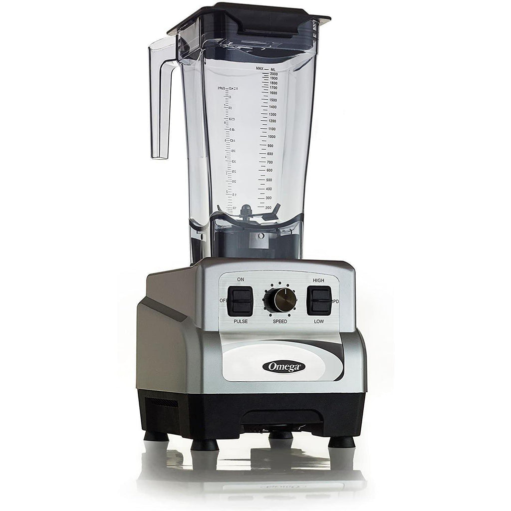 Omega OM6560S 3HP Variable 10-Speed BlenderSuper Wellness USA