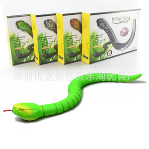 Electronic remote control simulation snake