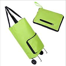FASHION FOLDING CART FANCY SHOPPING TUG BAG